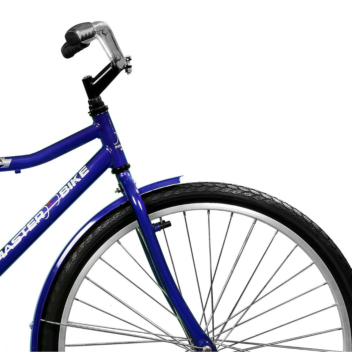Bicicleta Master Bike Aro 26 Super Barra Contrapedal Azul