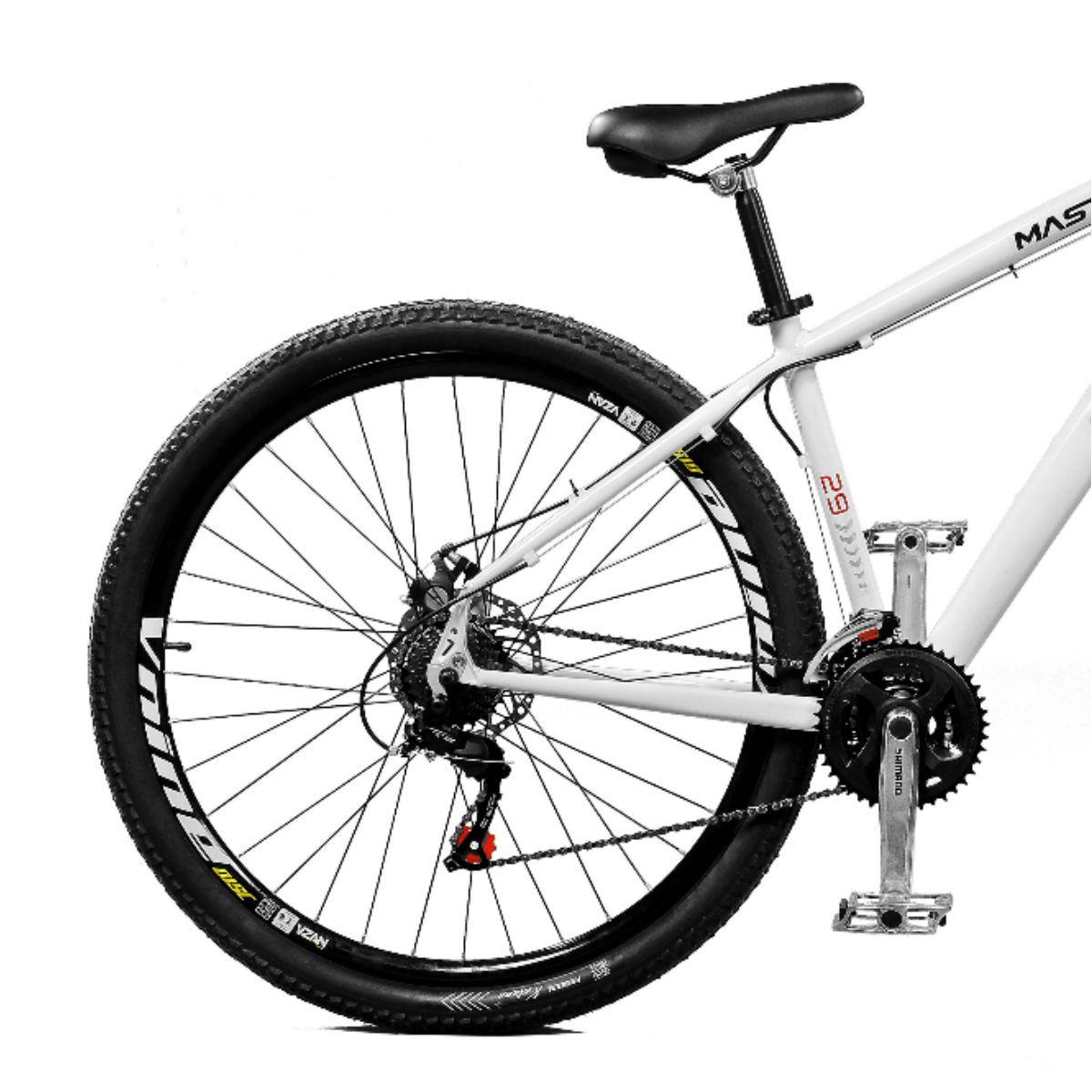 Bicicleta Master Bike Aro 29 Extreme Freio à Disco A-36 Branco
