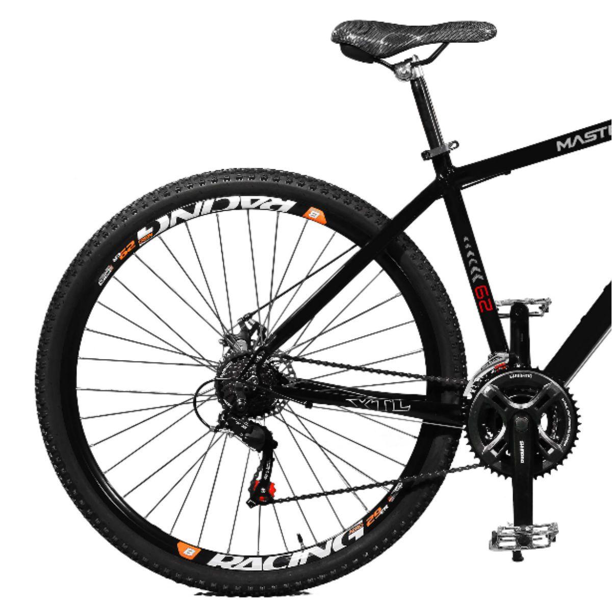 Bicicleta Master Bike Aro 29 Extreme Freio à Disco A-36 Preto