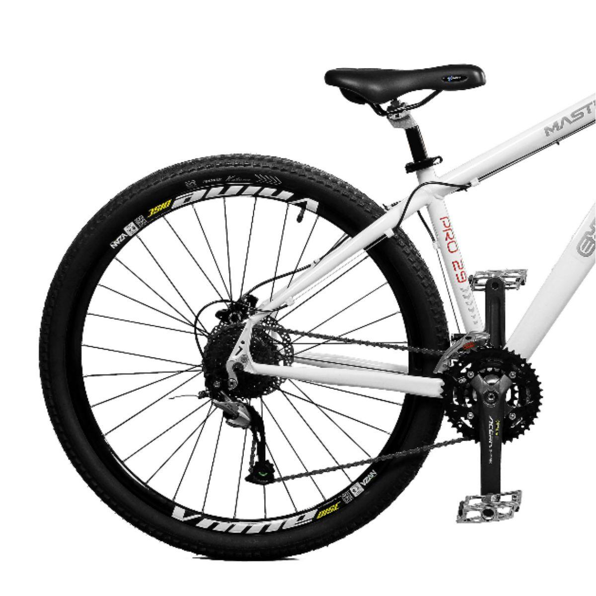 Bicicleta Master Bike Aro 29 Extreme Pro Freio Hidráulico 27 V Branco