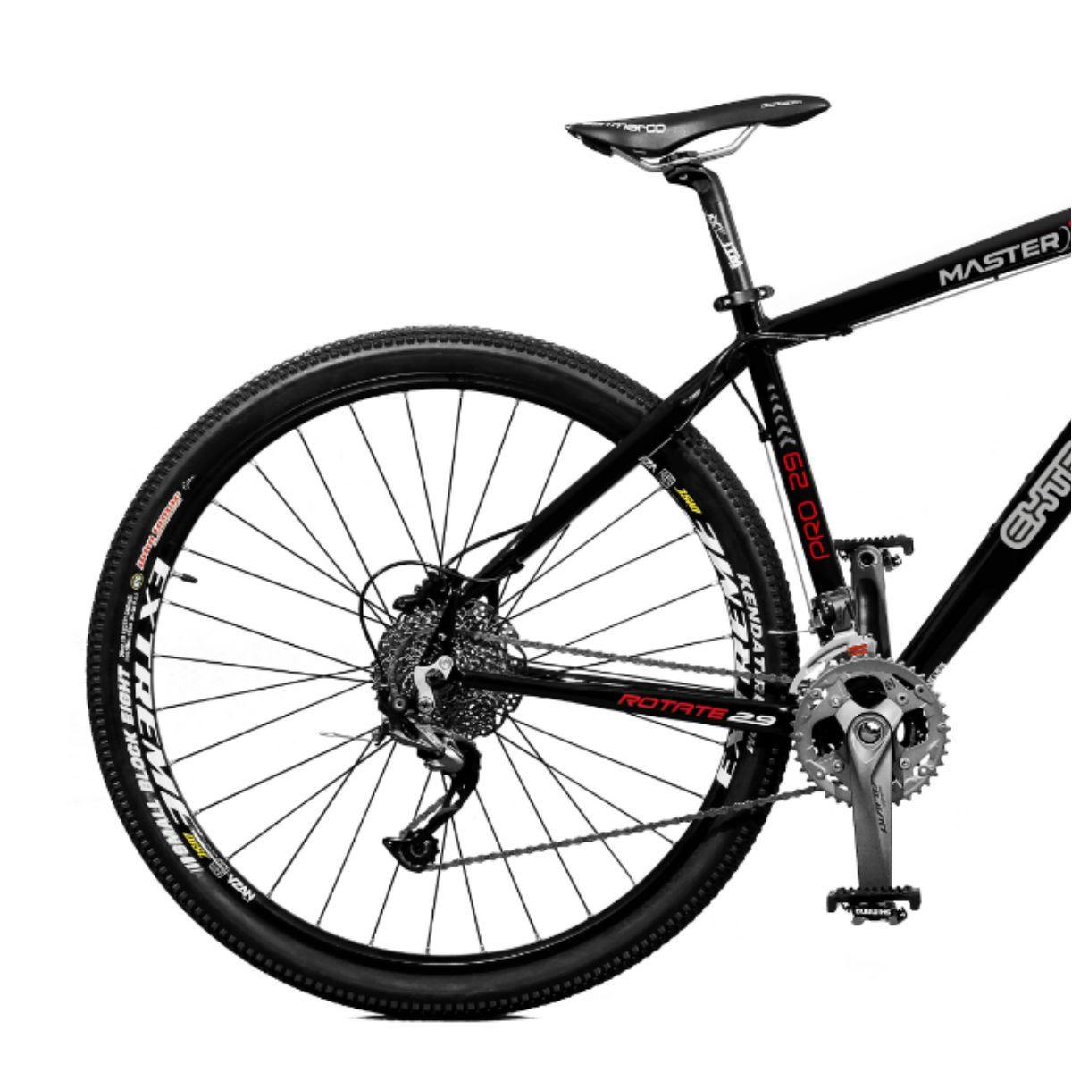 Bicicleta Master Bike Aro 29 Extreme Pro Freio Hidráulico 27 V Preto