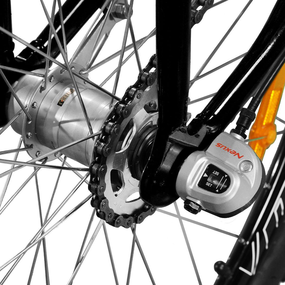 Bicicleta Master Bike Aro 29 Urbis Freio à Disco 3 V Nexus Preto