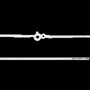 Corrente Díspar 2129 Veneziana 45 cm - Prata