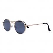 Óculos De Sol Díspar D2464 Redondo - Dourado/Preto