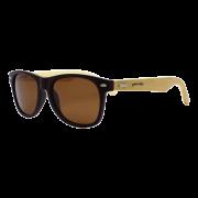 Óculos de sol Your Way 4304YW Lentes Polarizadas - Proteção UV400 - Marrom/Bambu