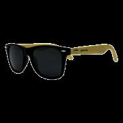 Óculos de sol Your Way 4305YW Lentes Polarizadas - Proteção UV400 - Preto/Bambu