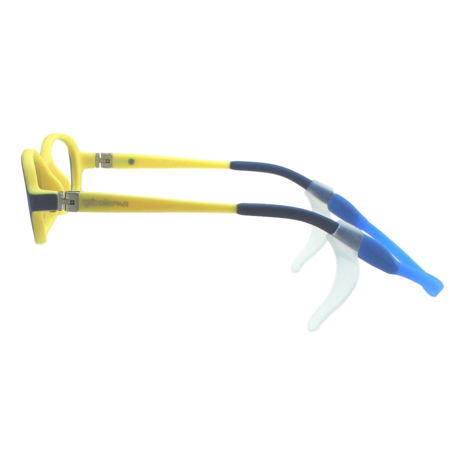 Armação para Óculos de Grau Díspar ID1944 Flexível Infantil Azul 3 a 6 anos  - Díspar ... 07de8ee98e