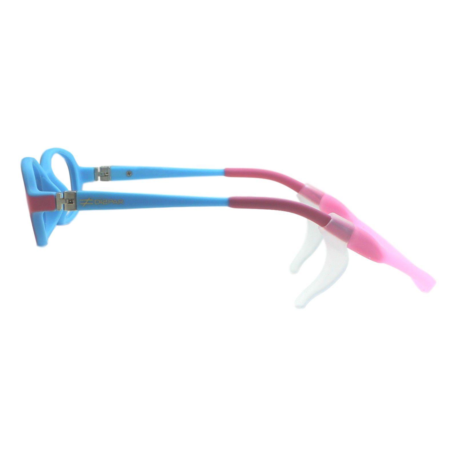 Armação para Óculos de Grau Díspar ID1944 Flexível Infantil Rosa 3 a 6 anos  - Díspar ... e0c490081b