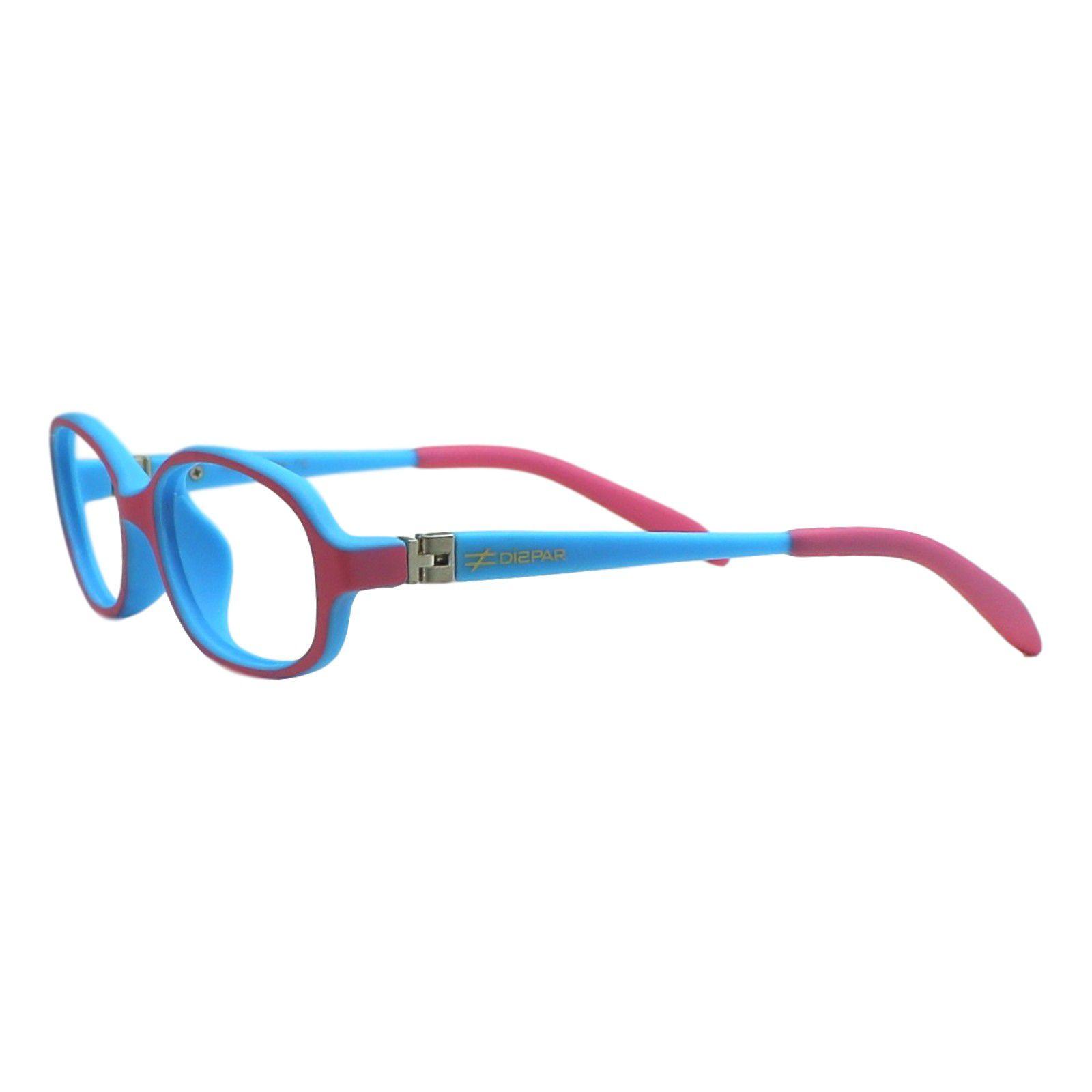 501cf130aa43a ... Armação para Óculos de Grau Díspar ID1944 Flexível Infantil Rosa 3 a 6  anos ...