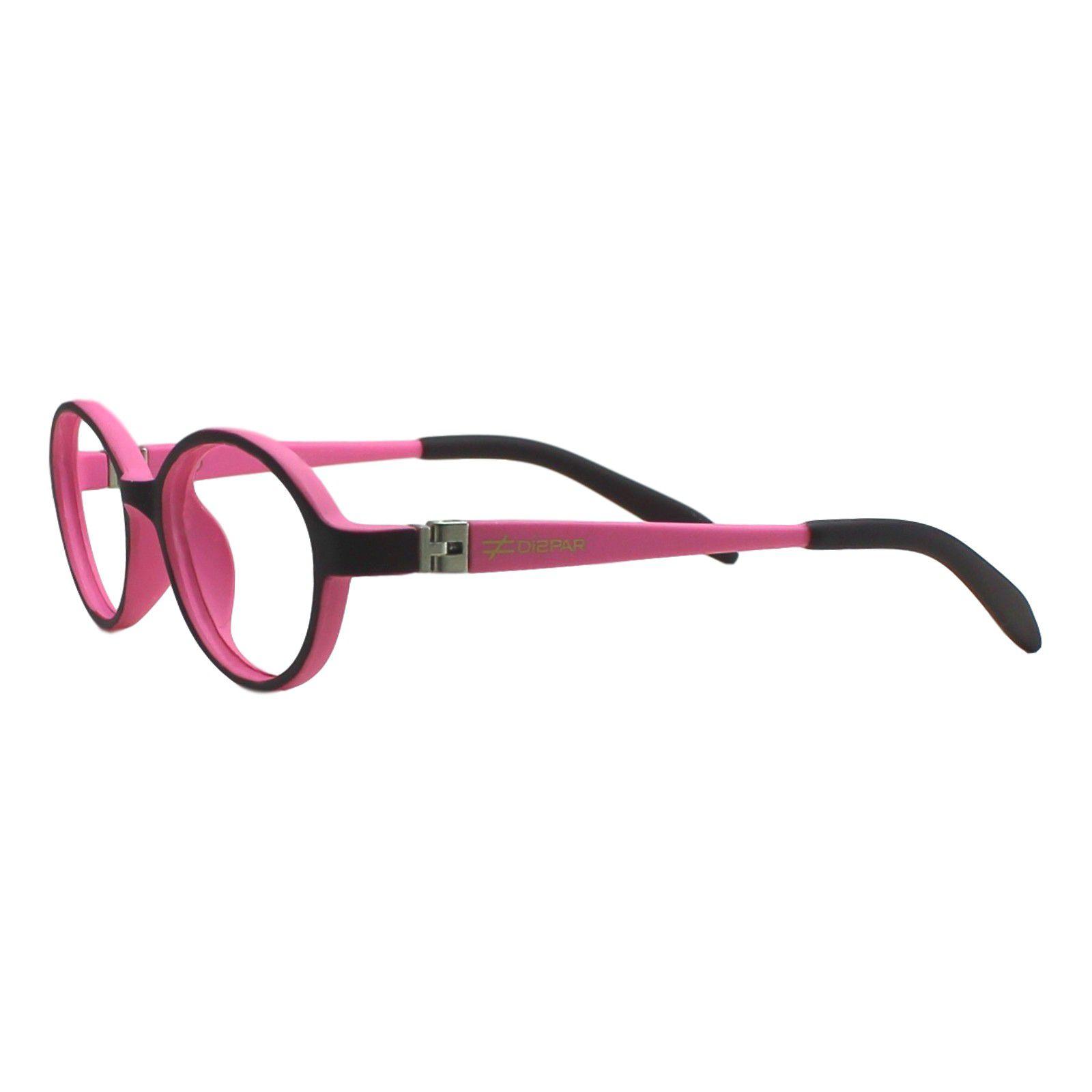 ... Armação para Óculos de Grau Díspar ID1945 Flexível Infantil Rosa 3 a 6  anos - Díspar ... b227ed017a