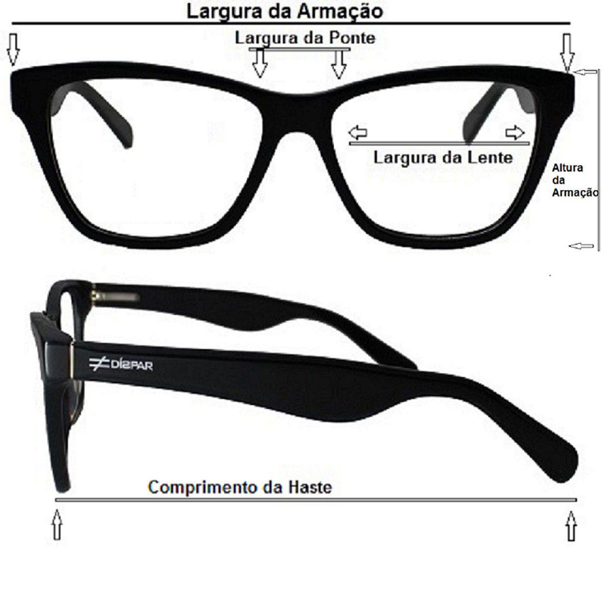 ... Armação para Óculos de Grau Díspar ID1945 Flexível Infantil Rosa 3 a 6  anos - Díspar b4ef9bc647