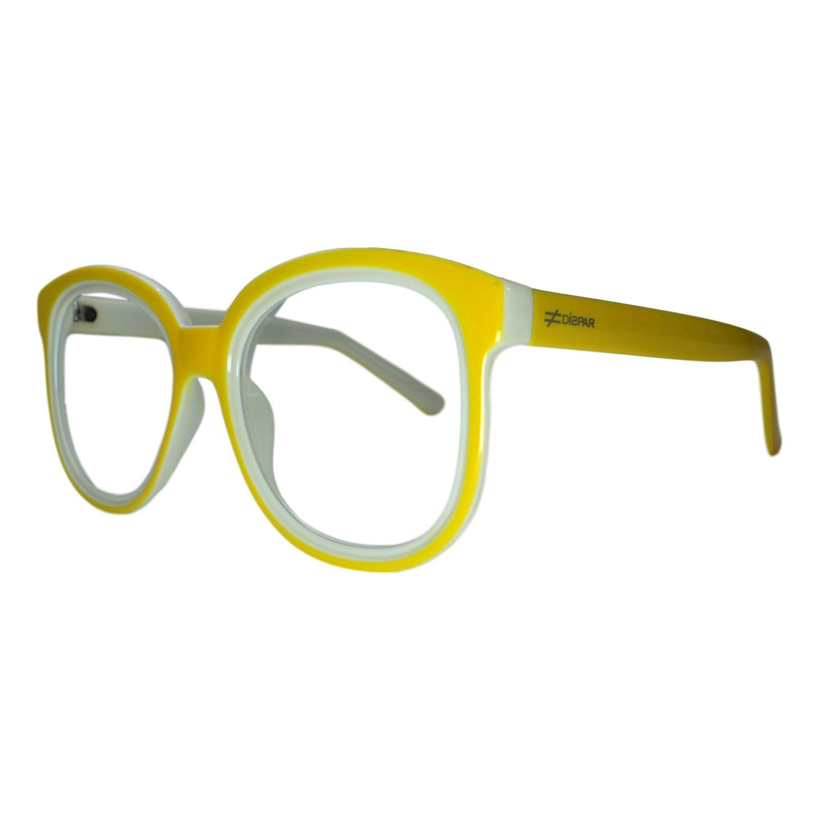 eaeab717dc452 Armação para Óculos Díspar D1639 Amarelo