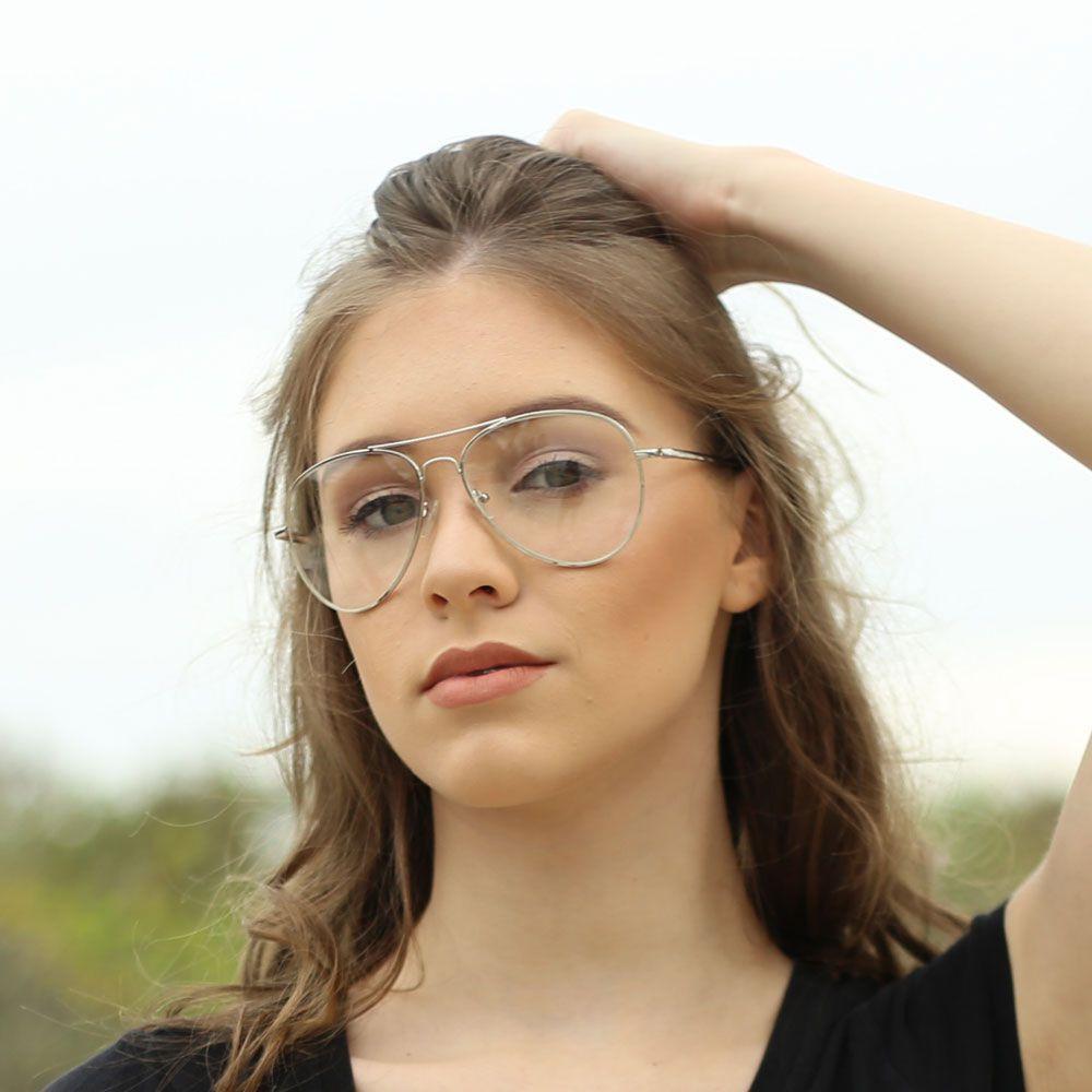 Armação para Óculos Díspar D1637 Prata