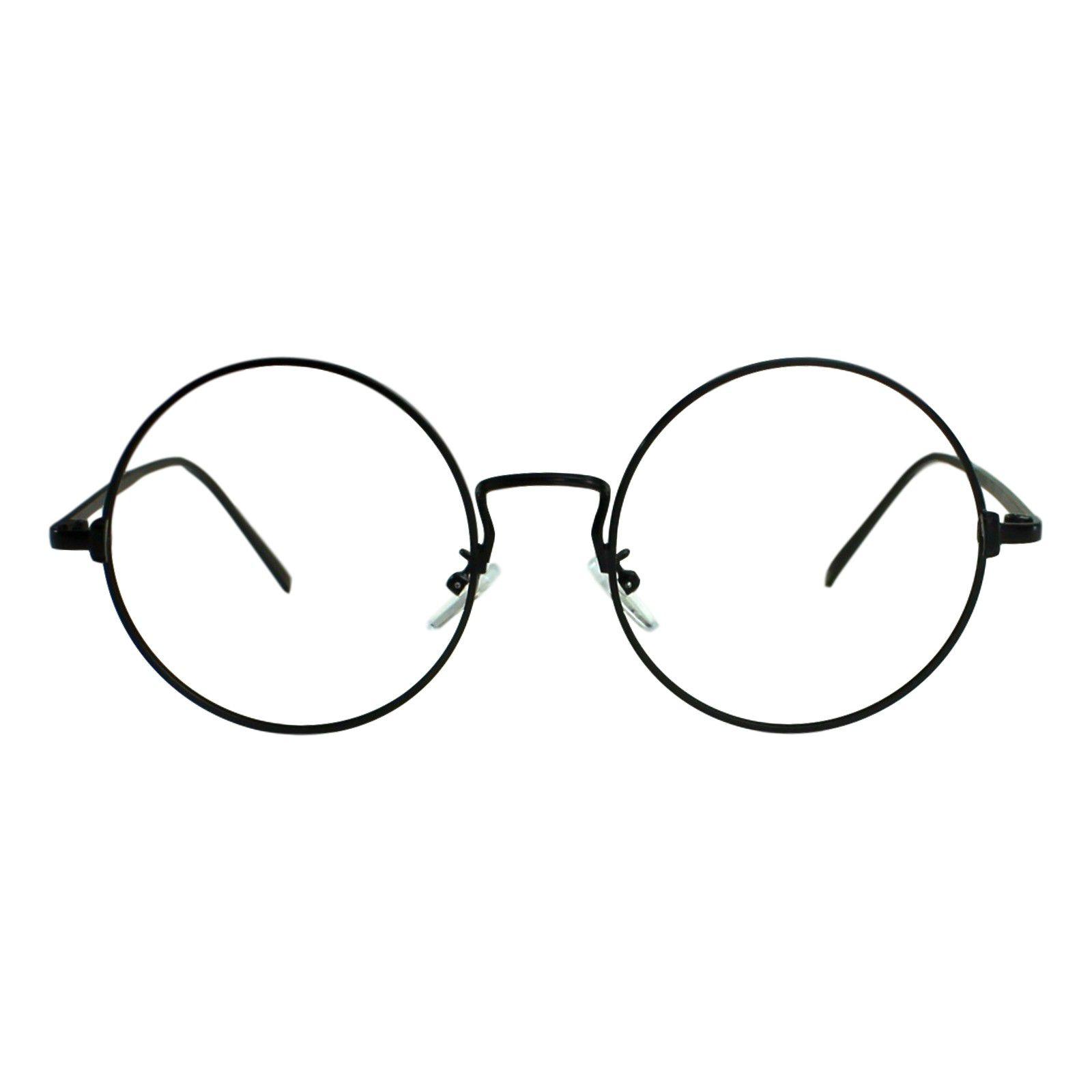 ... Armação para Óculos Díspar D1881 Redondo Grande Preto - Díspar Style ... 7b8b15cd6b