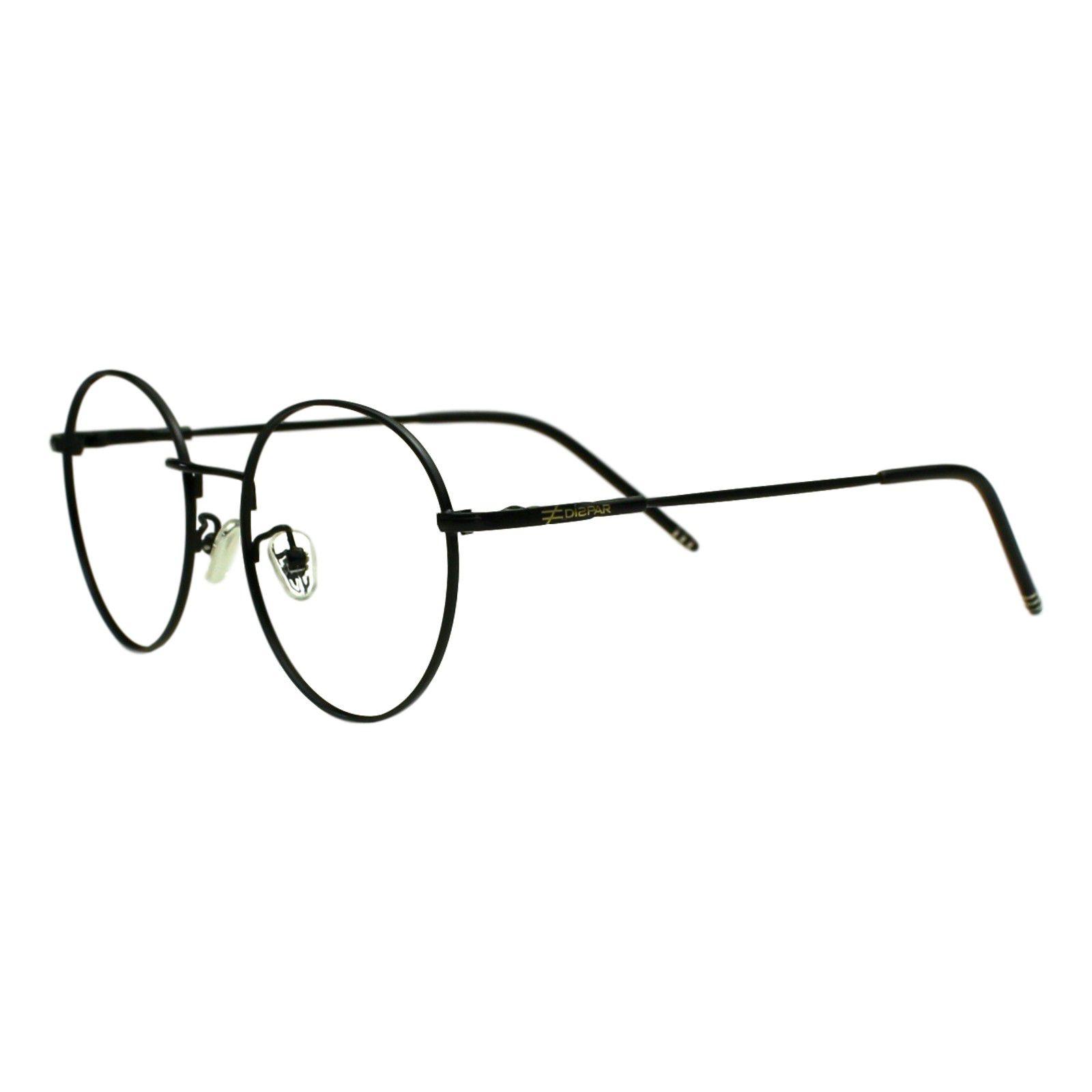 4078ad20ef952 Armação para Óculos Díspar D1947 Redondo Preto