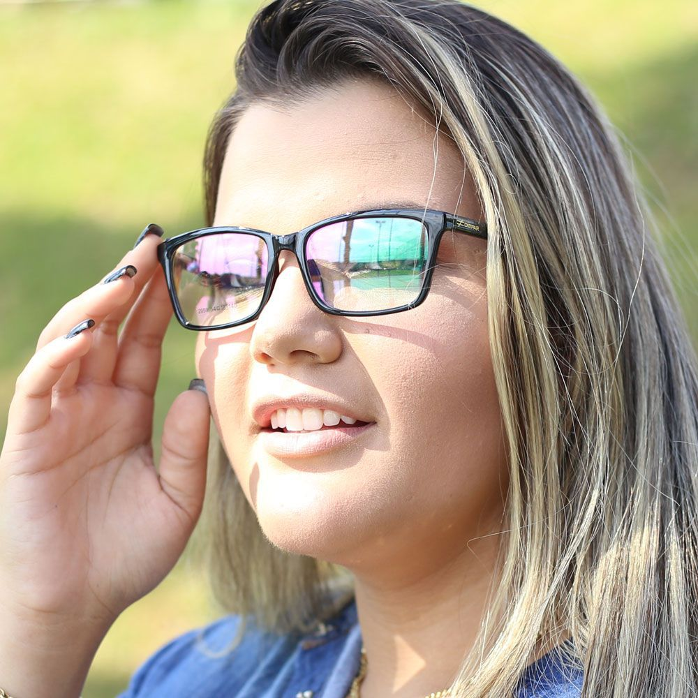 Armação para Óculos Díspar D2009 - Preto