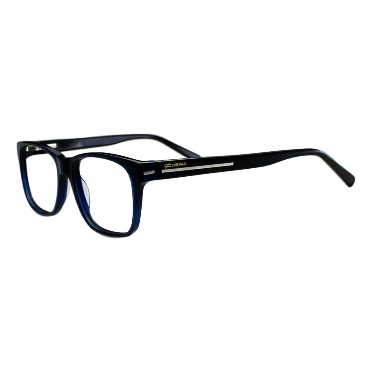 Armação para Óculos Díspar D2011 - Azul Marinho