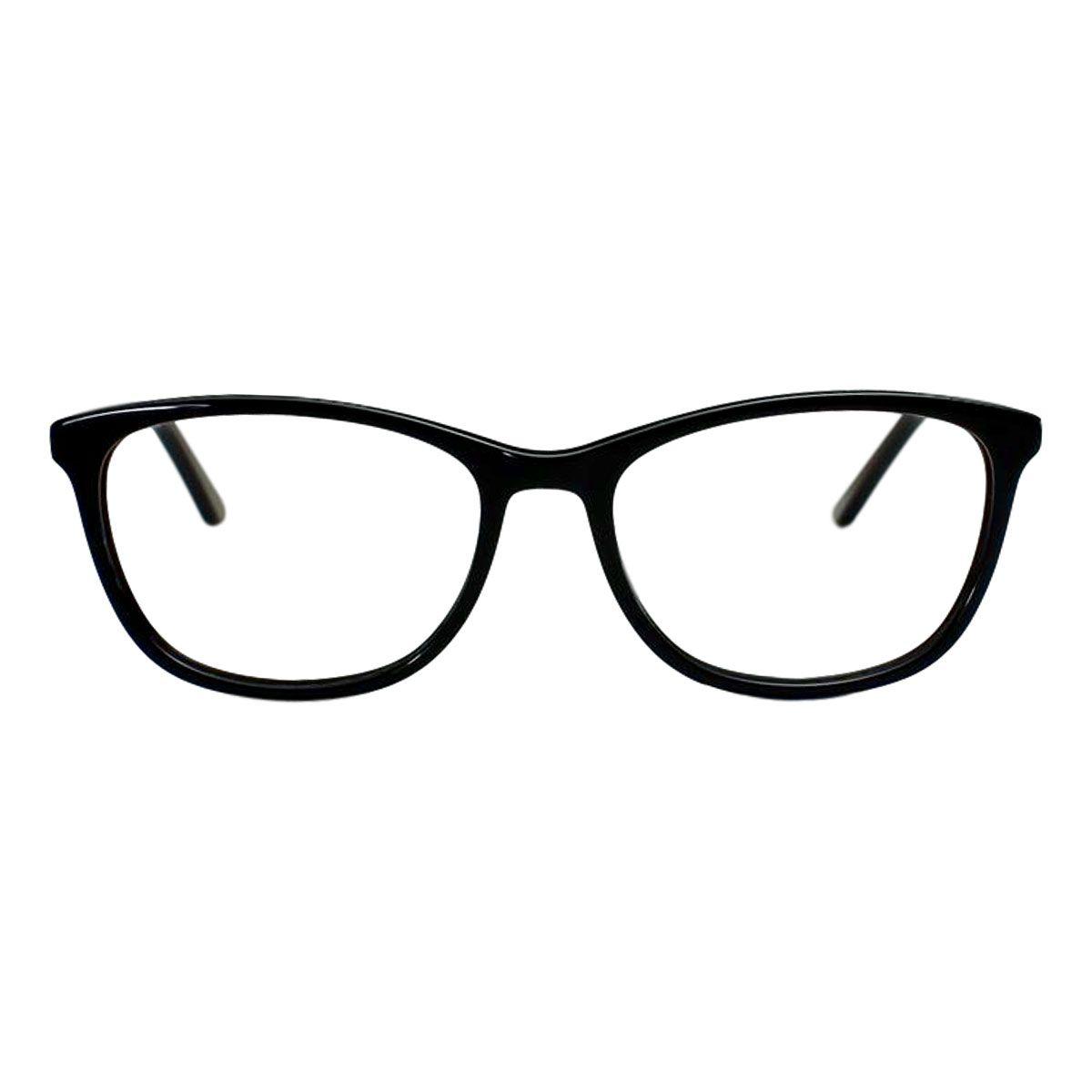 Armação para Óculos Díspar D2013 Acetato - Preto