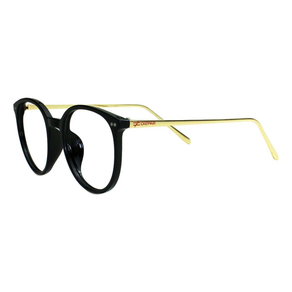 Armação para Óculos Díspar D2090 TR90 - Preto