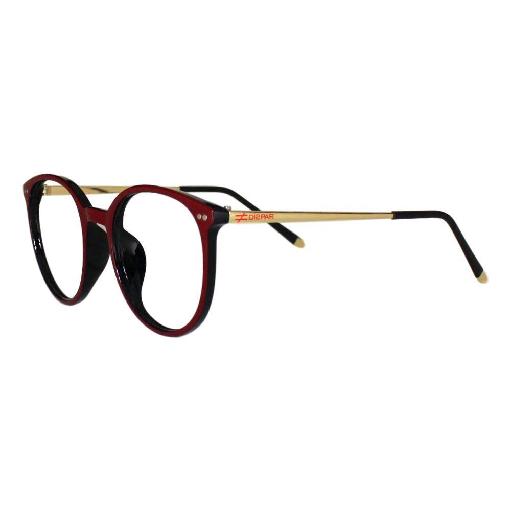 4d76142ca6450 Armação para Óculos Díspar D2090 TR90 - Vinho