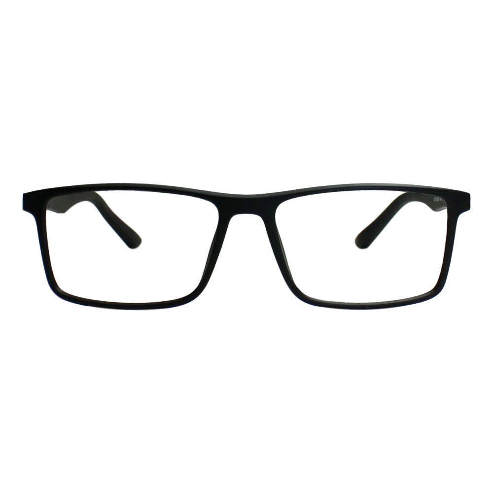 Armação para Óculos Díspar D2095 TR90 - Preto Fosco