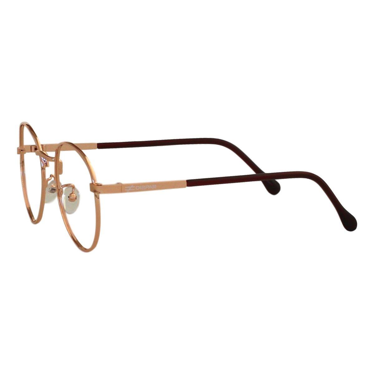 Armação para Óculos Díspar D2207  Dourado
