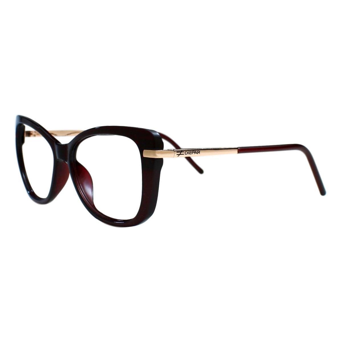 Armação para Óculos Díspar D2208 - Marrom