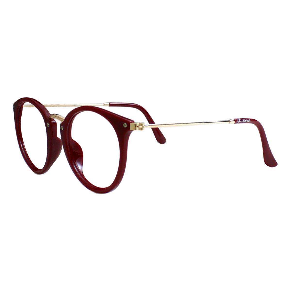 Armação para Óculos Díspar D2210 - Vinho