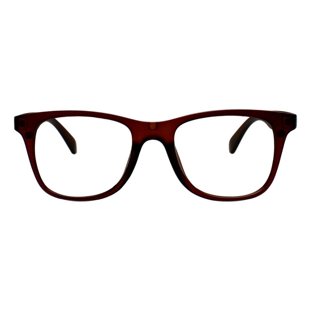 Armação para Óculos Díspar D2247 Clip On 2 Lentes - Marrom