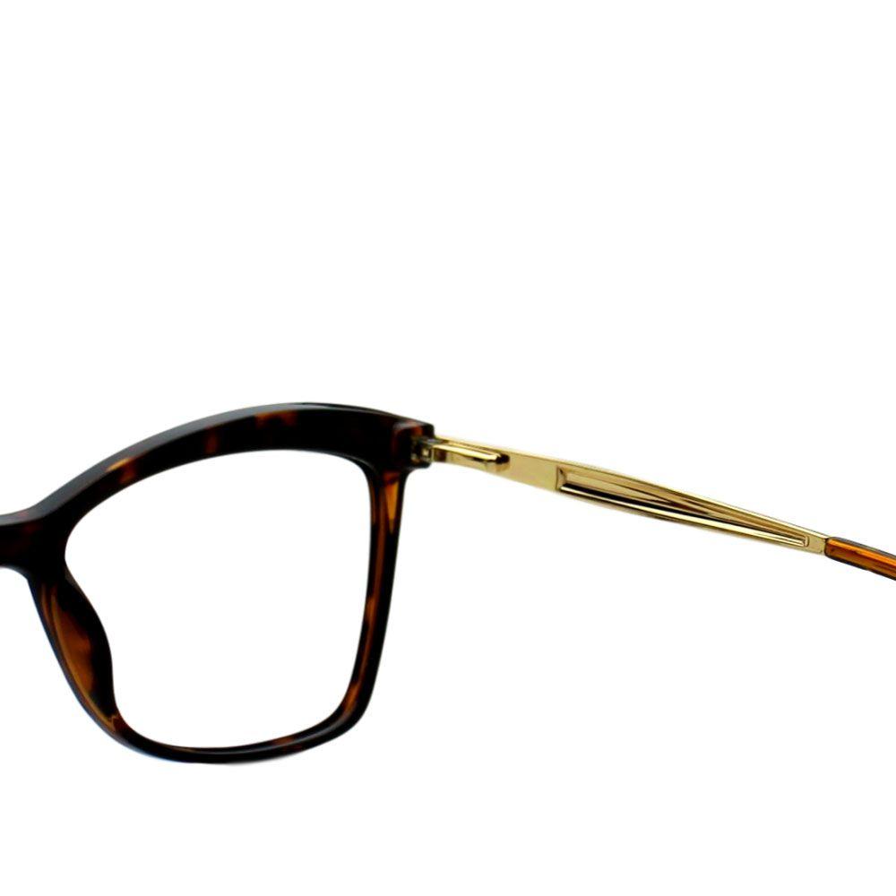 Armação para Óculos Díspar D2261 Borboleta - Tartaruga