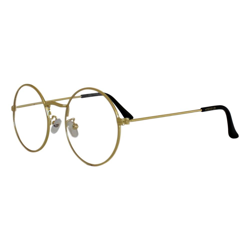 Armação para Óculos Díspar D2306 Redondo - Dourado
