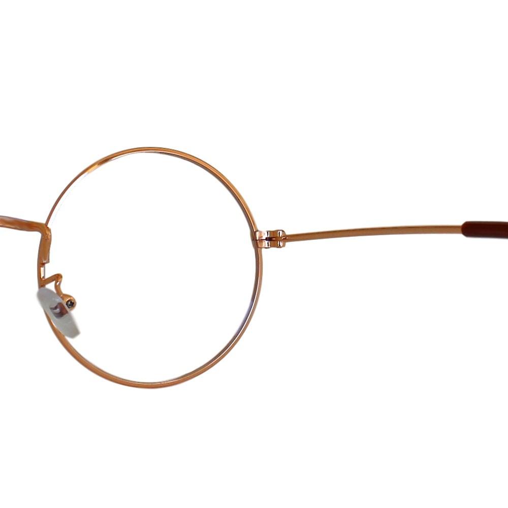 Armação para Óculos Díspar D2306 Redondo - Rosê