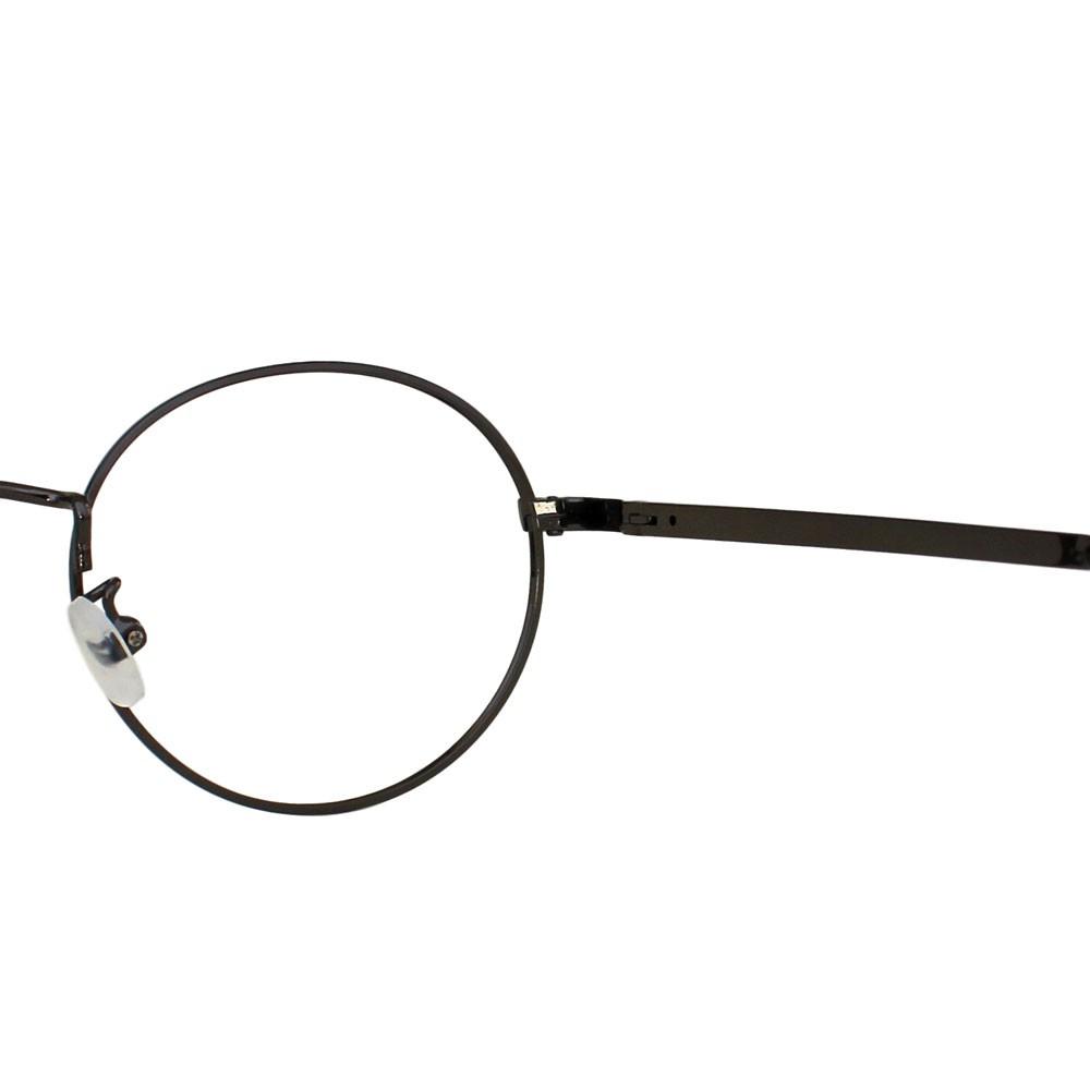 Armação para Óculos Díspar D2310 Redondo - Chumbo