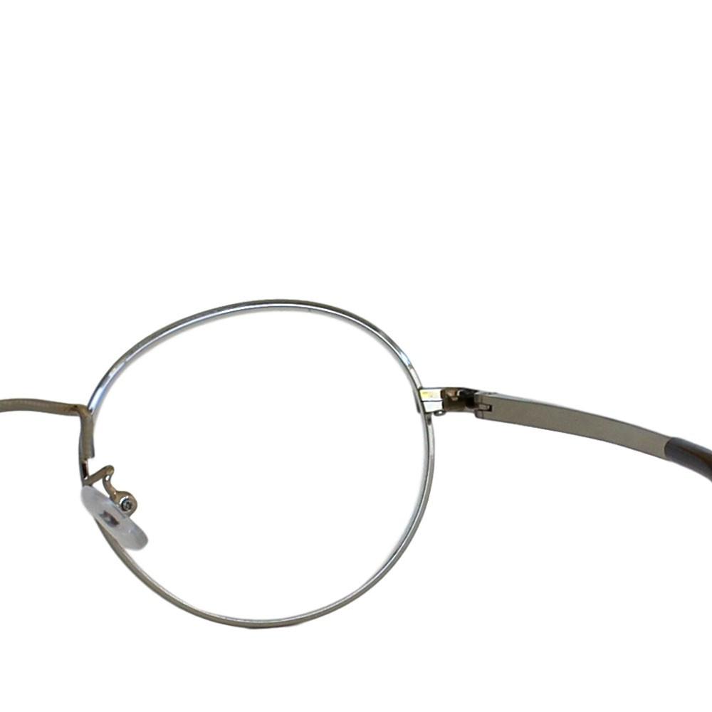 Armação para Óculos Díspar D2310 Redondo - Prata