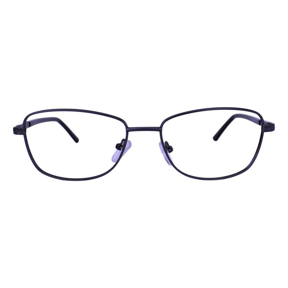 Armação para Óculos Díspar D2317 Retangular - Chumbo