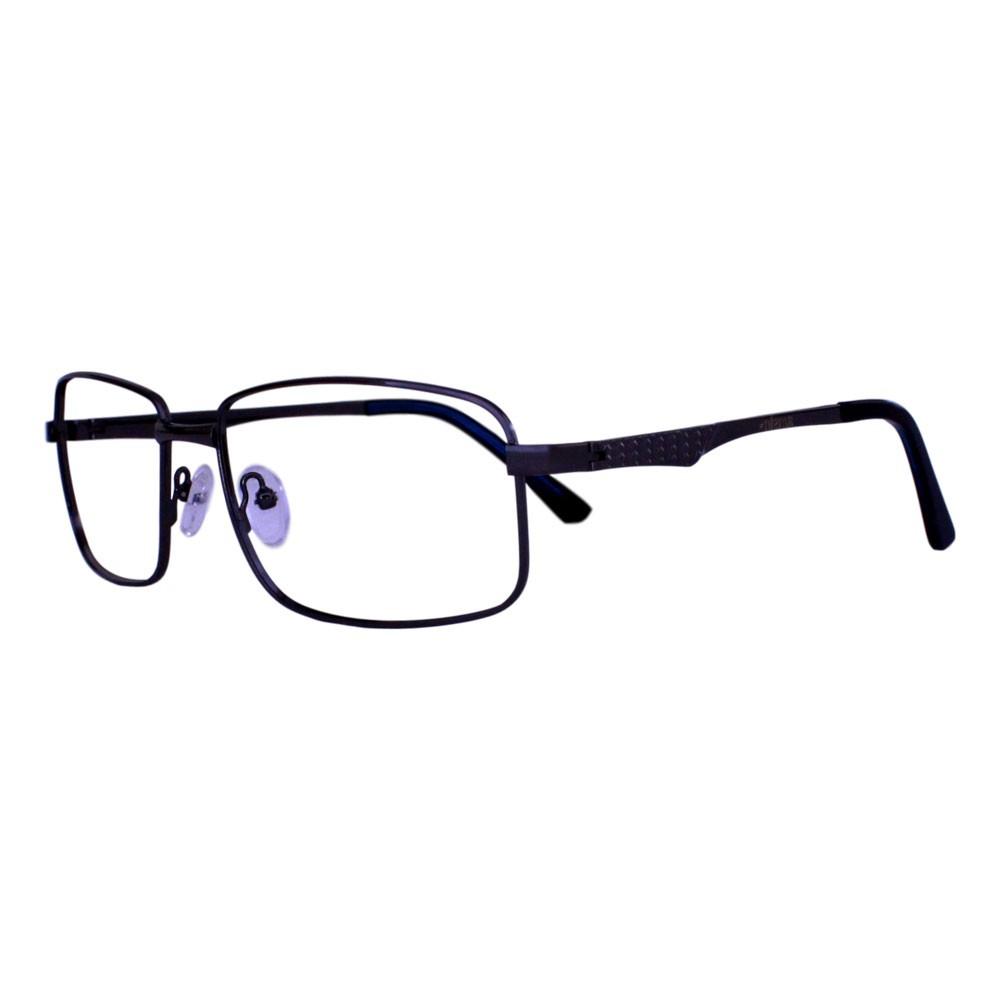 Armação para Óculos Díspar D2319 Retangular - Chumbo