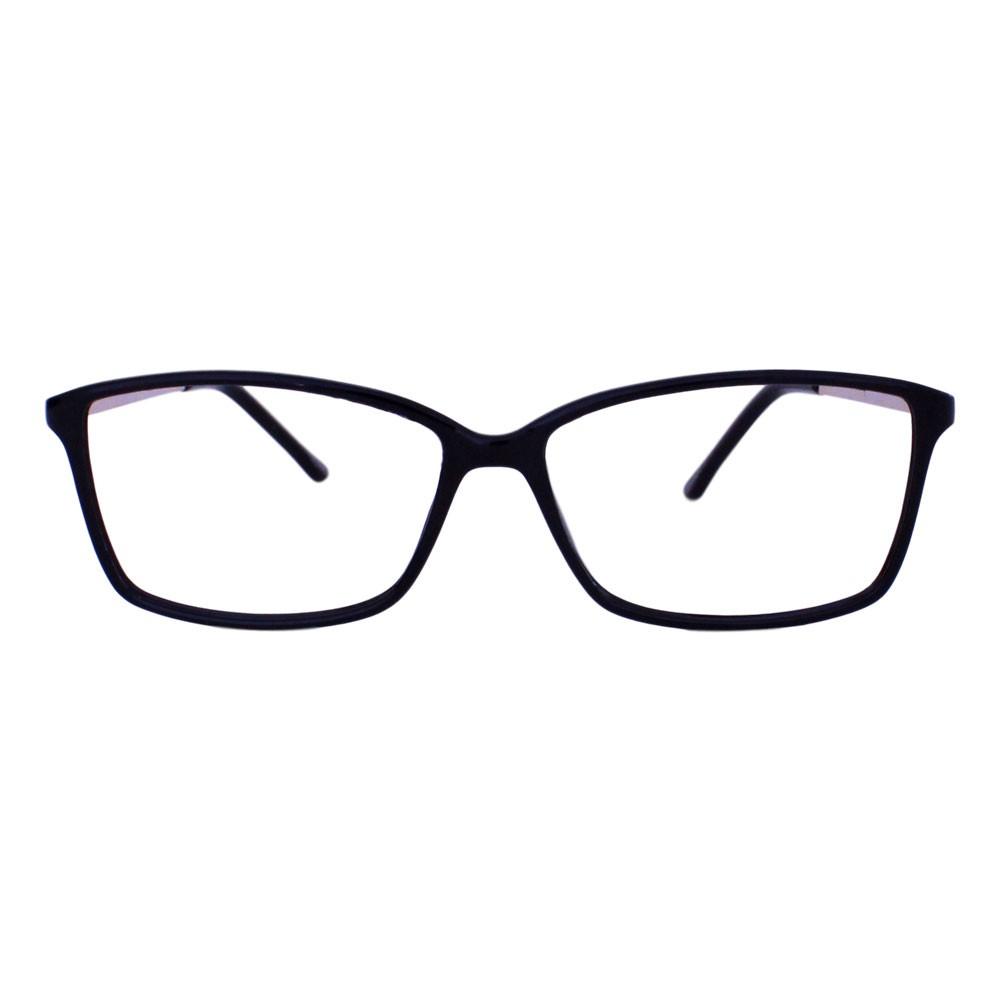 Armação para Óculos Díspar D2320 Retangular - Preto