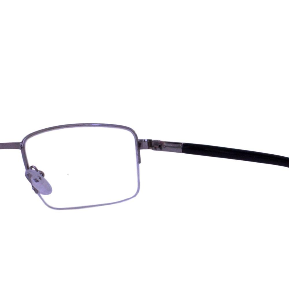 Armação para Óculos Díspar D2324 Retangular - Chumbo