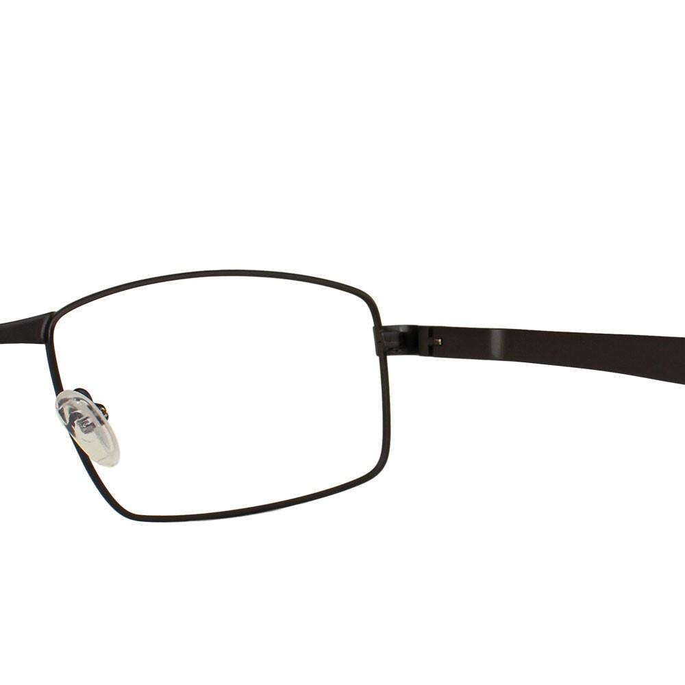 Armação para Óculos Díspar D2334 Retangular - Chumbo