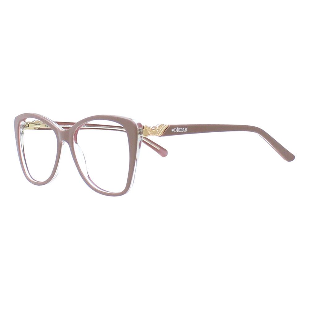 Armação para Óculos Díspar D2414 Borboleta - Nude
