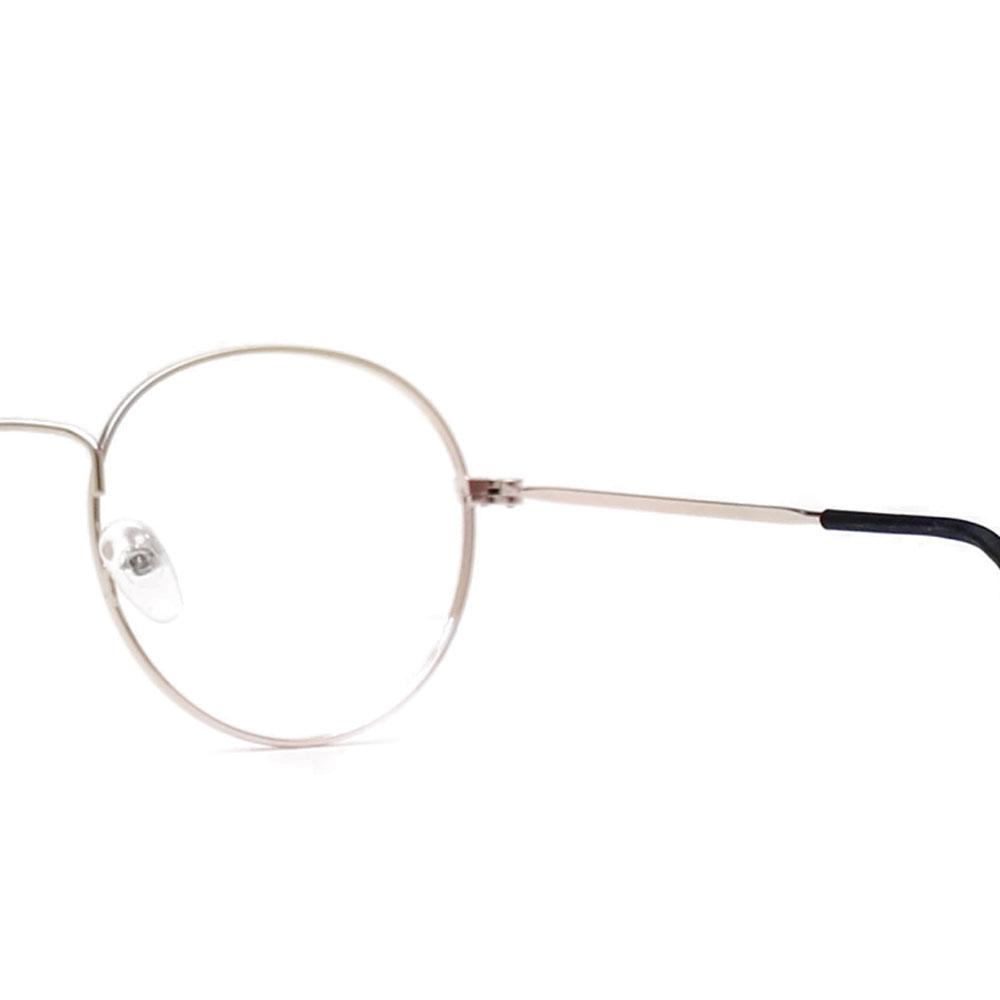 Armação para Óculos Díspar D2480 Redondo - Dourado