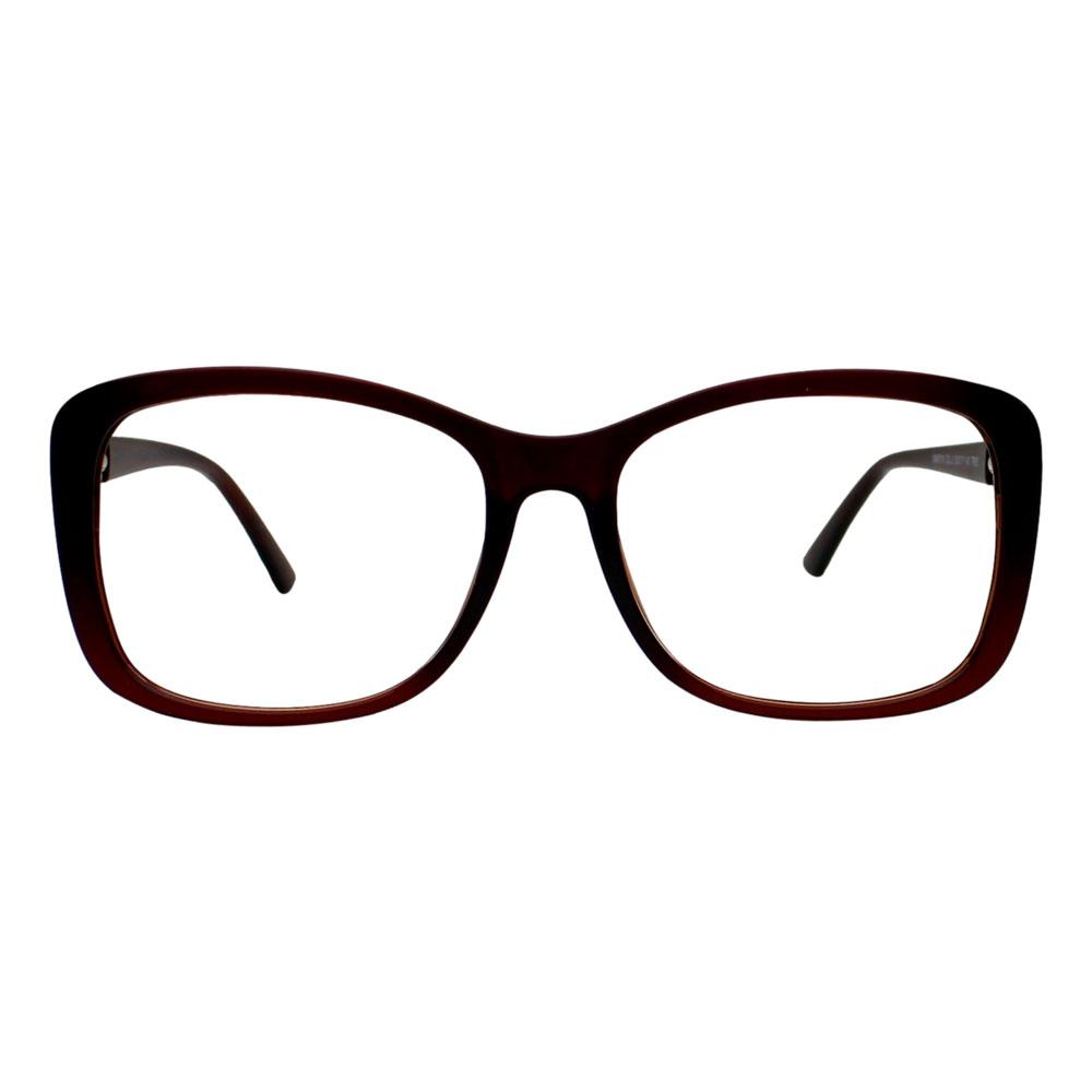 Armação para Óculos Díspar D2508 Clip On 1 Lente - Marrom