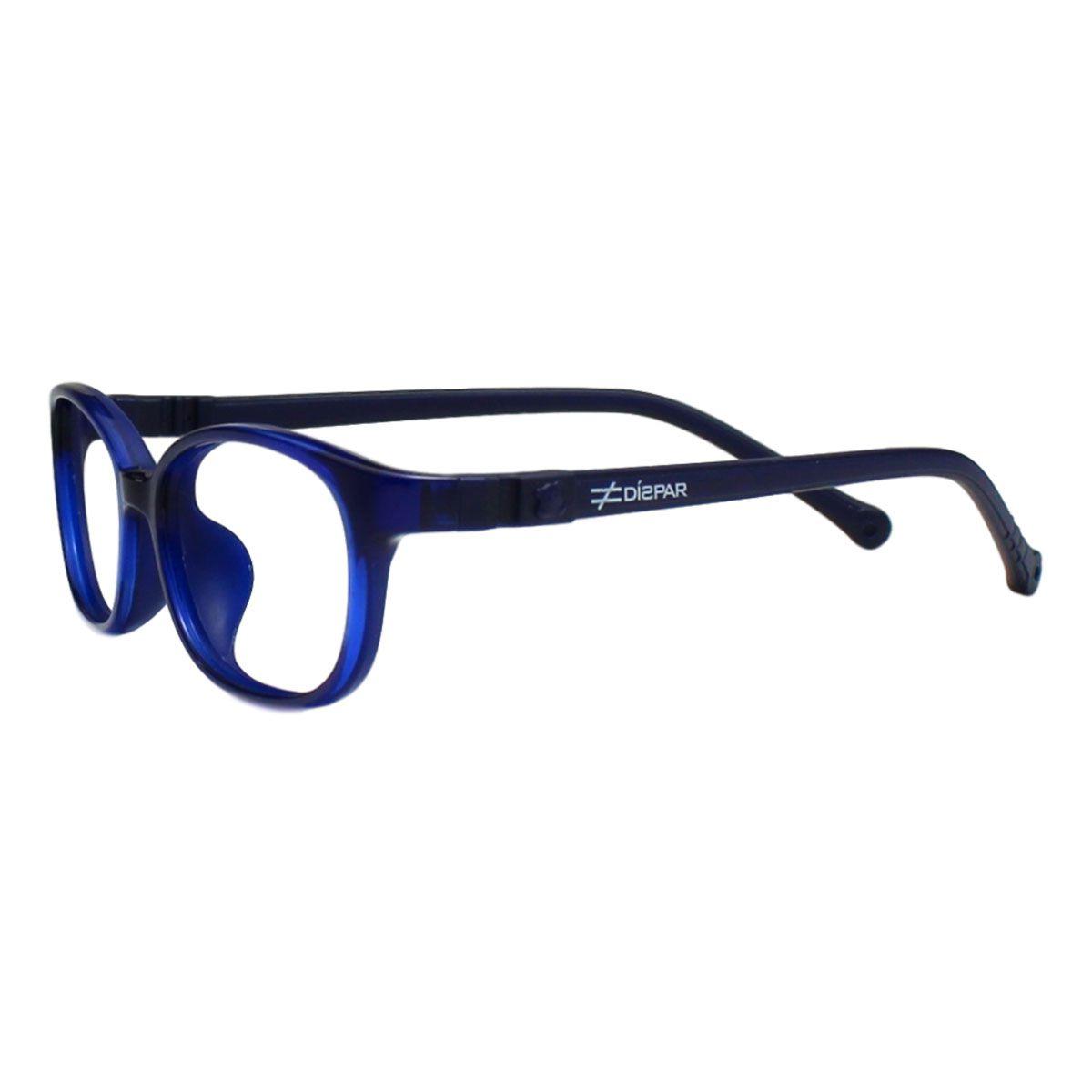 Armação para Óculos Díspar ID2100 Infantil 6 a 9 anos Flexível - Azul
