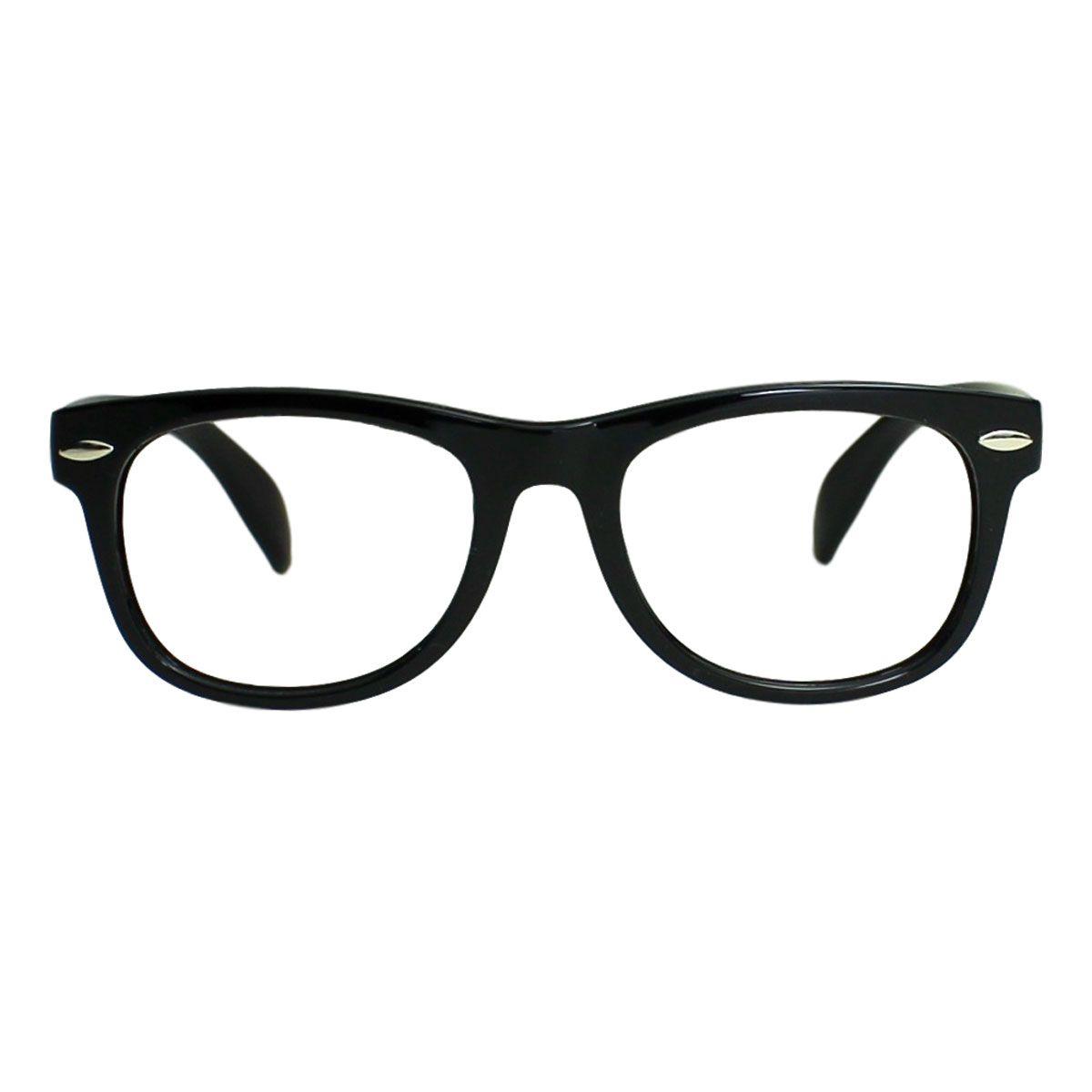 Armação para Óculos Díspar ID2104 Infantil Flexível - Preto Idade 3 a 6 anos