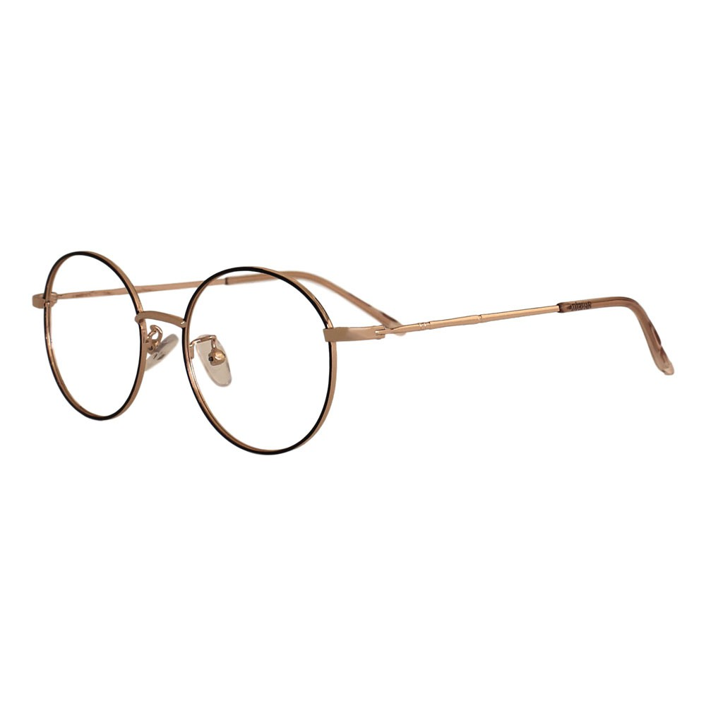 Armação para Óculos Díspar ID2321 Round Infantil - Dourado/Preto