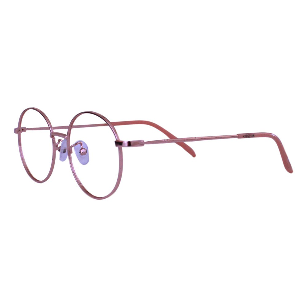 Armação para Óculos Díspar ID2321 Round Infantil - Dourado/Rosa