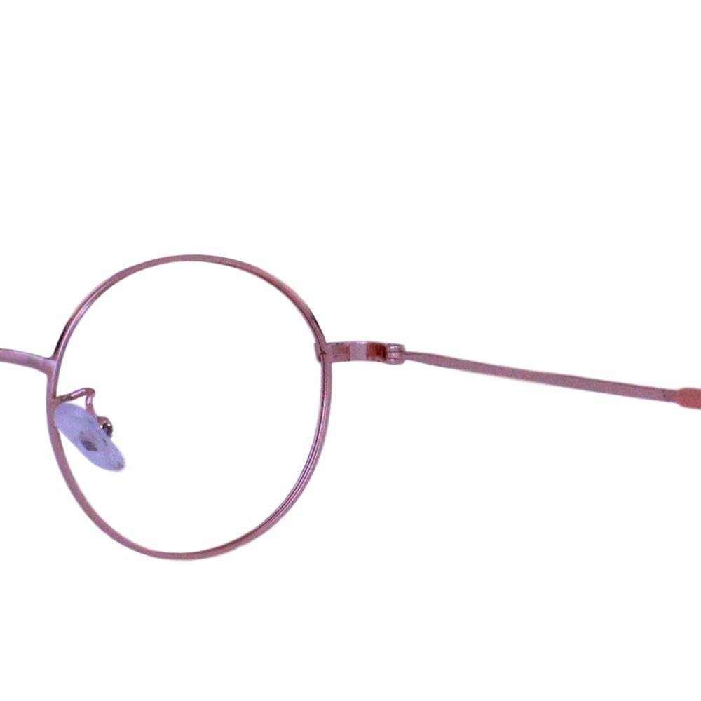 Armação para Óculos Díspar ID2321 Round Infantil - Dourado/Vermelho