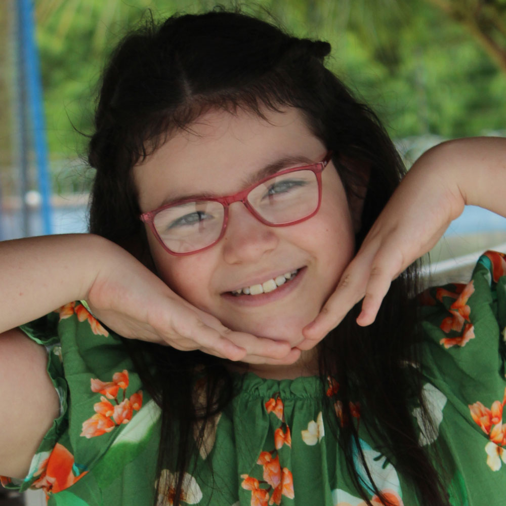 Armação para Óculos Díspar ID2449 Infantil Idade 6 a 9 anos - Pink