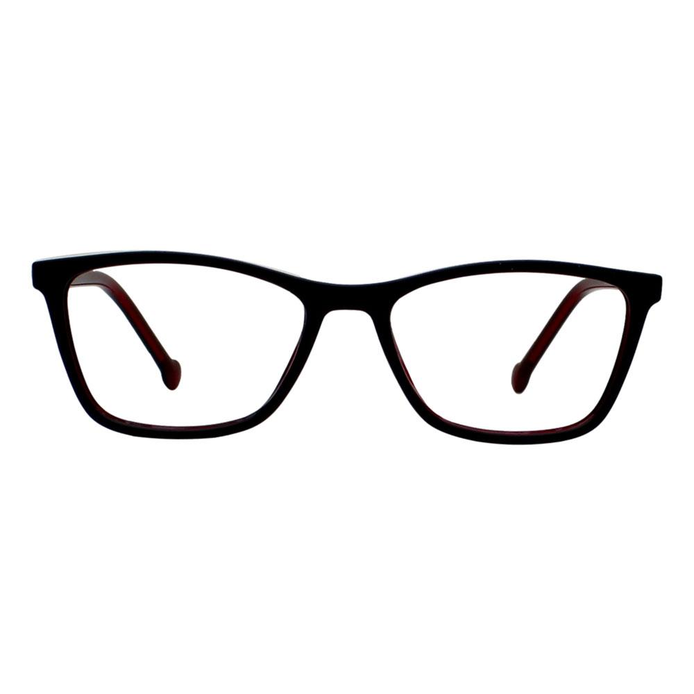 Armação para Óculos Díspar ID2449 Infantil Idade 6 a 9 anos - Preto/Vermelho