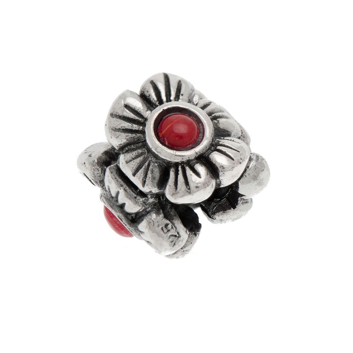 Berloque Díspar 2218 Flower - Prata